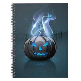 Cuaderno oscuro de Halloween
