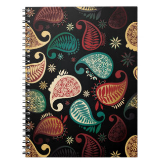 Cuaderno oscuro de Paisley