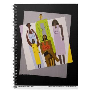 """Cuaderno """"oscuro y precioso"""""""
