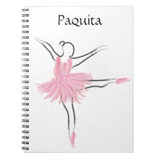 Cuaderno Paquita del amor del tutú
