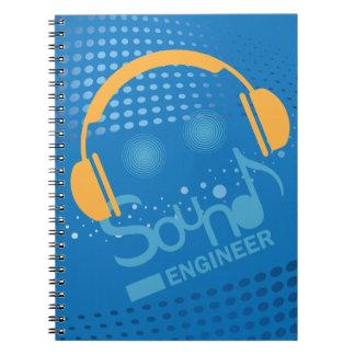 Cuaderno para DJ y los ingenieros de sonido