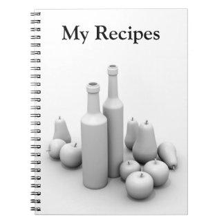 Cuaderno para las recetas