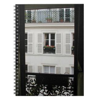 Cuaderno parisiense de la ventana