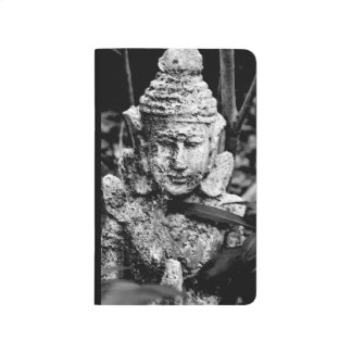 Cuaderno - paz Buddah blanco y negro