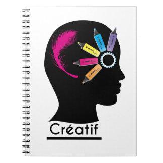 "Cuaderno Perfil ""Creativo """