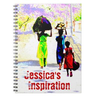Cuaderno personal de la inspiración