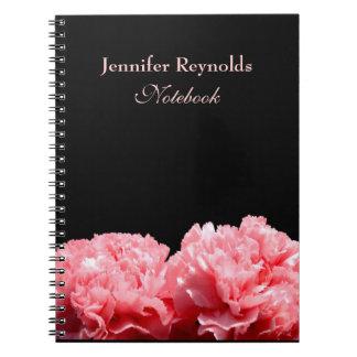 Cuaderno personal de los claveles rosados