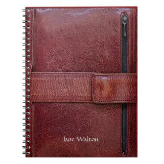 Cuaderno personal del efecto del organizador de la