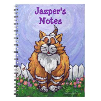 Cuaderno personal del gato lindo