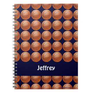 Cuaderno personalizado baloncesto