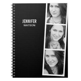 Cuaderno personalizado cabina de la foto