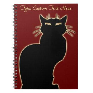 Cuaderno personalizado cuaderno del arte del gato