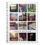 Cuaderno personalizado de la foto de Instagram