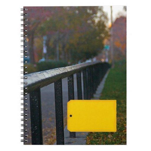 """Cuaderno personalizado """"del carril"""""""
