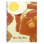 Cuaderno personalizado desayuno