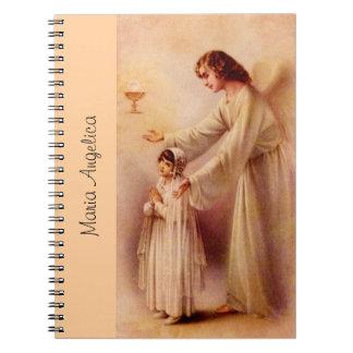 Cuaderno personalizado: Mi corazón le percibe