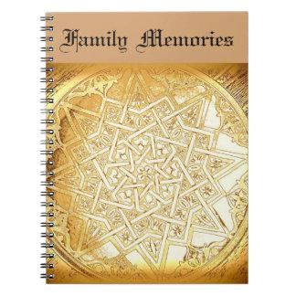 Cuaderno personalizado recuerdo