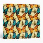 Cuaderno pintado de las mariposas