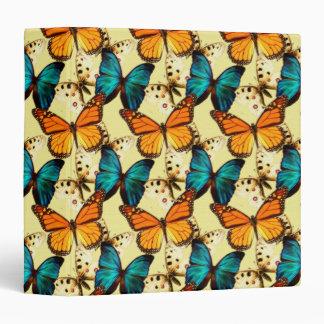 """Cuaderno pintado de las mariposas carpeta 1 1/2"""""""