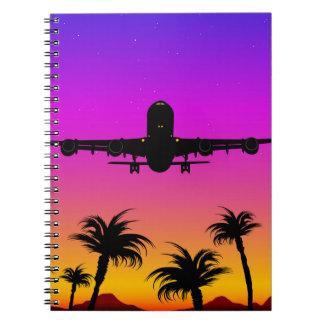 Cuaderno plano pacífico