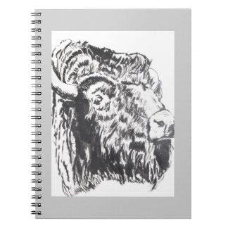 Cuaderno principal del búfalo