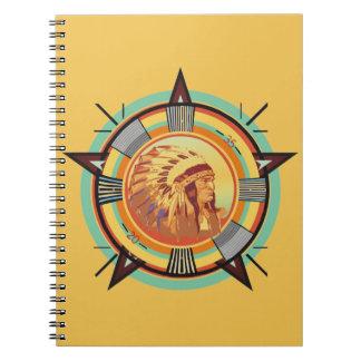 Cuaderno principal indio del modelo de prueba