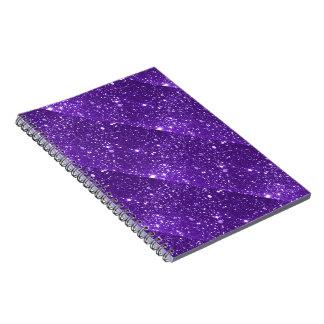 Cuaderno púrpura de la chispa