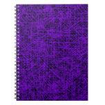 """Cuaderno púrpura del """"rasguño"""""""