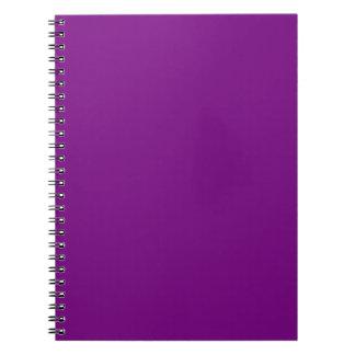 Cuaderno púrpura medio