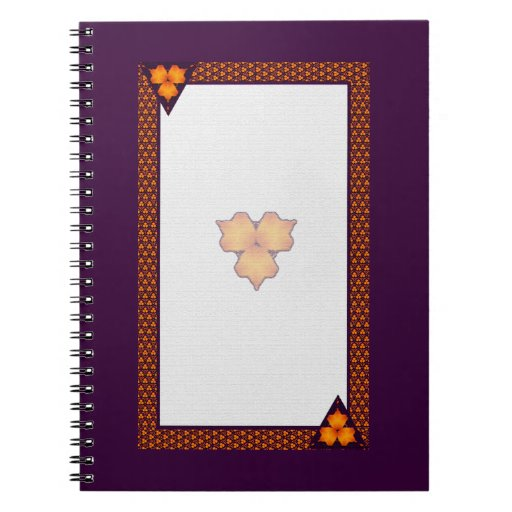 Cuaderno púrpura polinesio