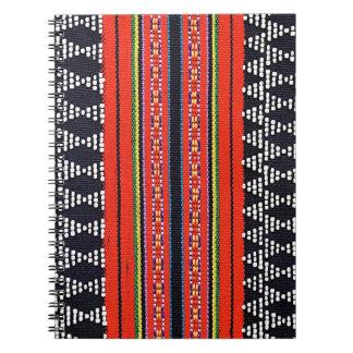 Cuaderno que teje del Lao