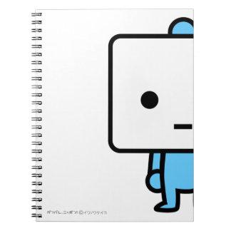 Cuaderno - queso de soja - azul