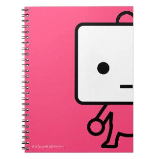 Cuaderno - queso de soja - rosa