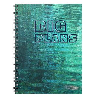 Cuaderno realmente GRANDE de los planes