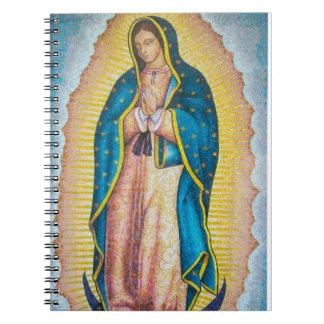 Cuaderno religioso vibrante del icono