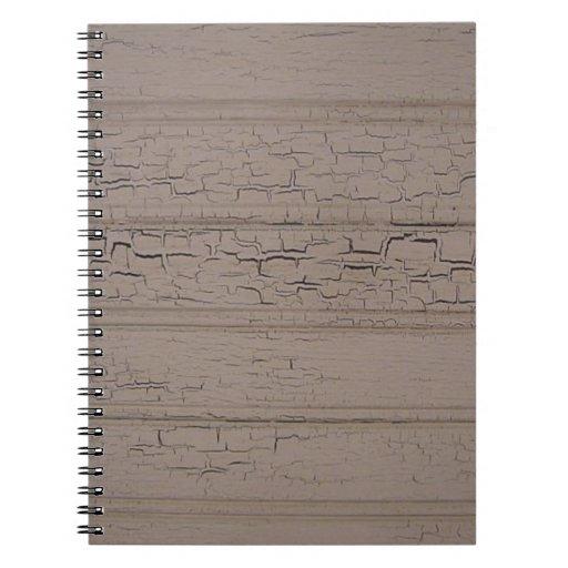 Cuaderno resistido de la clase de arte que echa a
