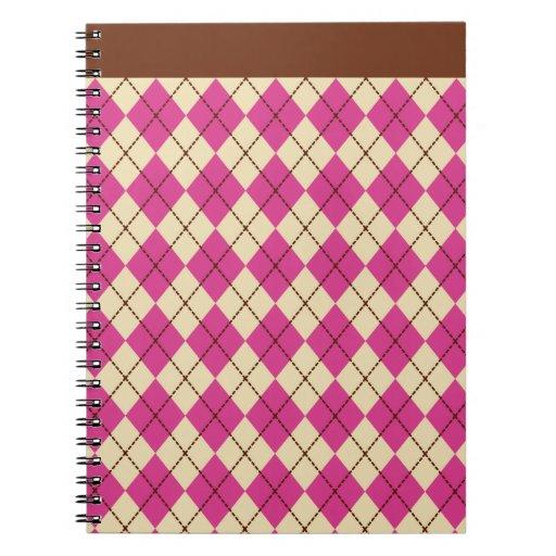 Cuaderno retro de Argyle
