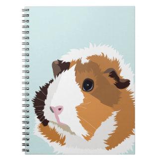 """Cuaderno retro de """"Elsie"""" del conejillo de Indias"""