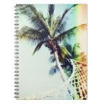 Cuaderno retro del verano