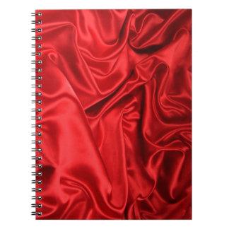 Cuaderno rojo de la seda/de la foto (80 páginas