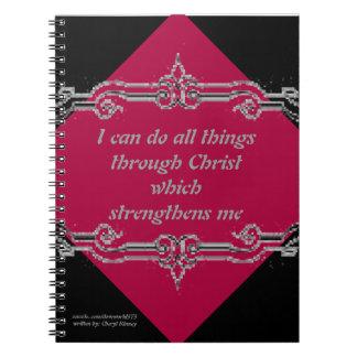 Cuaderno rojo del diseño