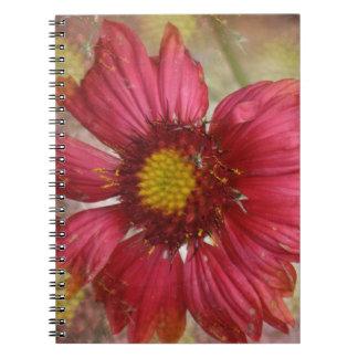 Cuaderno rojo del Gaillardia
