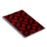 Cuaderno rojo del modelo