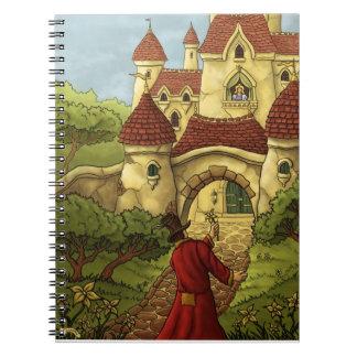 cuaderno romancing de la tarjeta del día de San