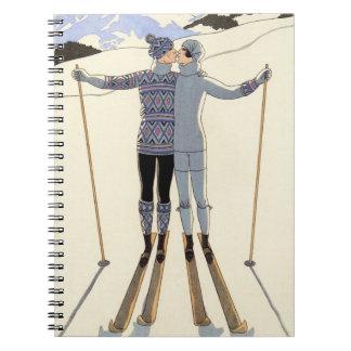 Cuaderno romántico de los pares del esquí
