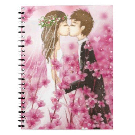 Cuaderno romántico del beso