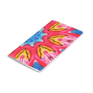 Cuaderno rosado de la mandala