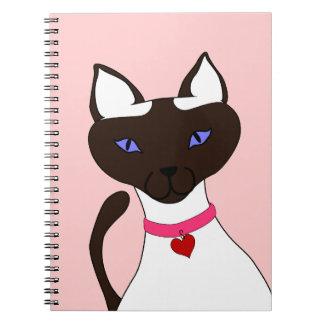 Cuaderno rosado de Moira del Ronroneo-fect