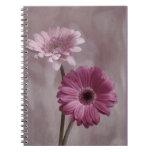 Cuaderno rosado del Gerbera