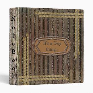 """Cuaderno rústico de la escuela del modelo de la carpeta 1"""""""
